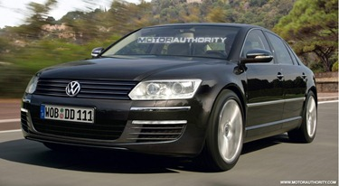 2011 volkswagen-phaeton-facelift-preview-rendering