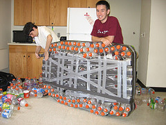 Fedex Furniture, Gatorade Raft - Zoli's Blog