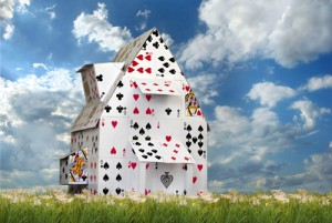 Do You Know the Difference Between a House of Cards and a House of Lego Blocks?